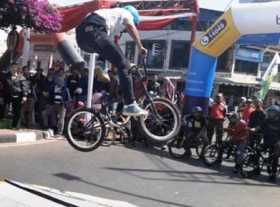 BMX Competition TDL ke-5  Picu Adrenalin