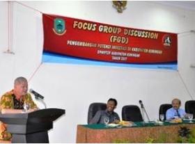 Tangkal Hoax, Polres Kuningan Gelar FGD