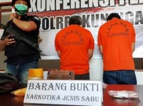 Dua Pengedar Sabu Ditangkap