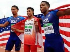 Lalu Muhammad Zohri, Juara Dunia Lari 100 M